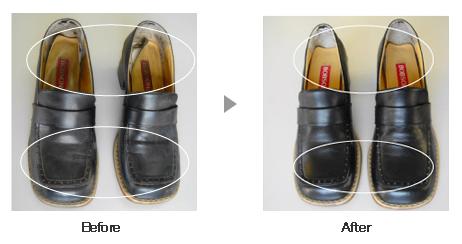 革靴・ブーツ クリーニング1