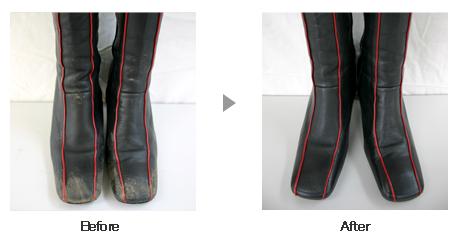 革靴・ブーツ クリーニング2