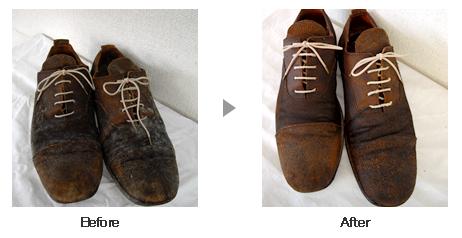 革靴・ブーツ クリーニング ビフォーアフター4